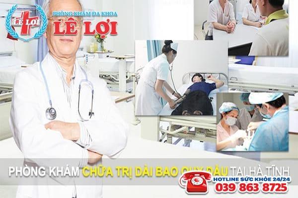 Phòng khám chữa trị dài bao quy đầu chất lượng hàng đầu tại Hà Tĩnh