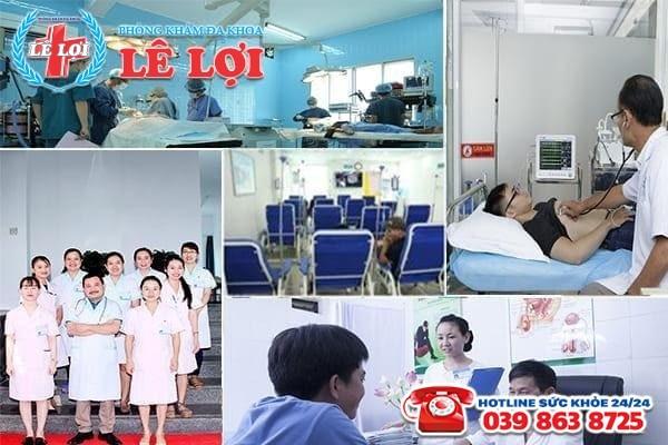 Đa Khoa Lê Lợi - địa chỉ điều trị viêm tuyến tiền liệt uy tín