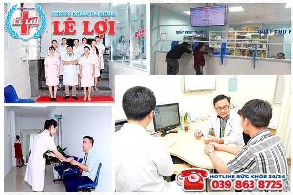 Phòng khám hỗ trợ điều trị bệnh viêm tuyến tiền liệt ở Vinh