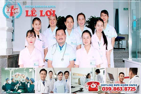 Đội ngũ y bác sĩ tại Phòng Khám Đa Khoa Lê Lợi