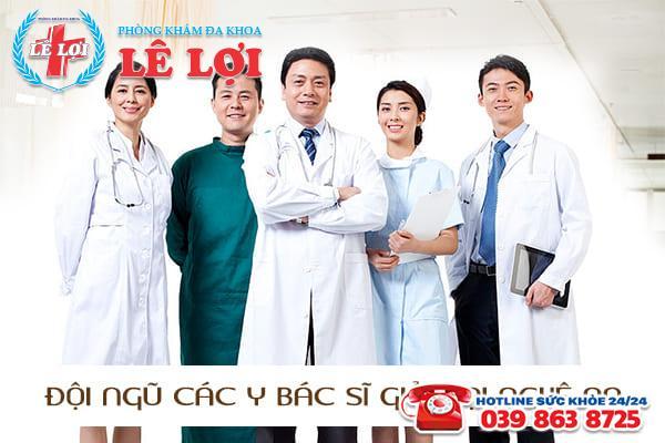 Đội ngũ bác sĩ luôn hết lòng tận tình với bệnh nhân