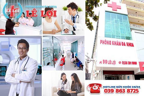 Đa Khoa Lê Lợi - phòng khám chất lượng, uy tín tại Nghệ An