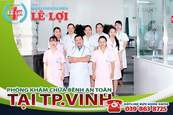 Đa Khoa Lê Lợi - nơi chữa bệnh an toàn tại TP. Vinh
