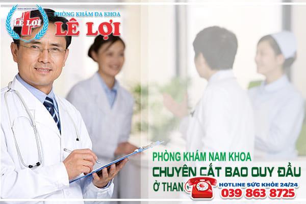 Phòng khám nam khoa chuyên cắt bao quy đầu ở Thanh Hóa