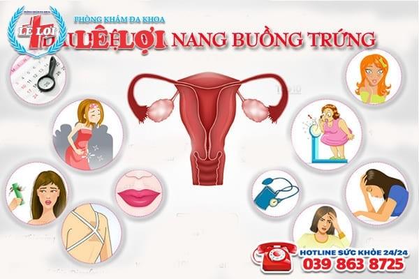 Các dấu hiệu đa nang buồng trứng thường gặp ở phụ nữ