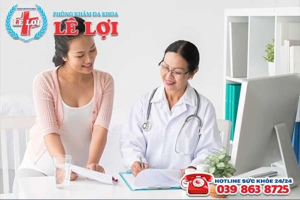 Nữ giới cần tiến hành thăm khám và điều trị khi bị đa nang buồng trứng