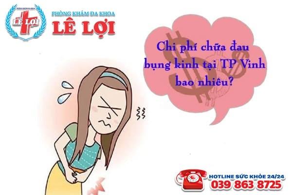 Chi phí chữa đau bụng kinh ở TP Vinh Nghệ An