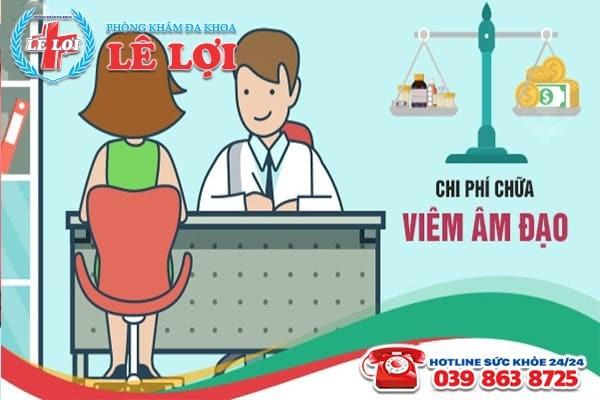 Chi phí chữa viêm âm đạo ở Đô Lương Nghệ An là bao nhiêu?