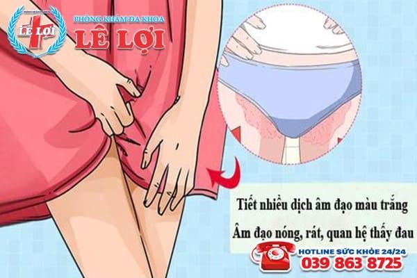 Bệnh viêm âm đạo ở nữ giới