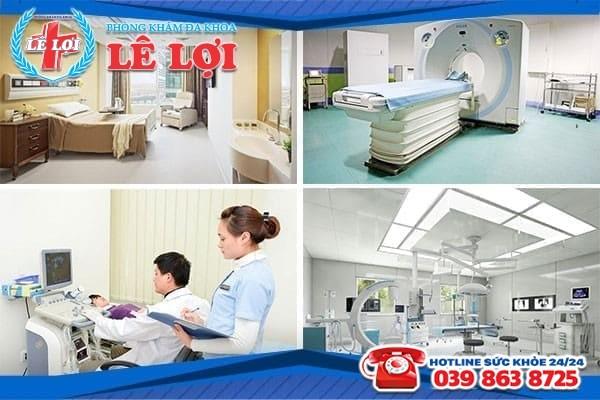 Phòng khám Lê Lợi – Địa chỉ chữa viêm lộ tuyến cổ tử cung hiệu quả với chi phí hợp lý