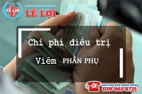Chi phí chữa viêm phần phụ ở Đô Lương Nghệ An năm 2020