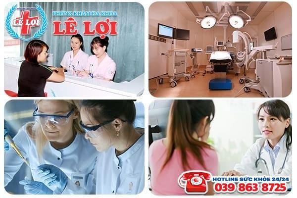 Phòng Đa Khoa Lê Lợi – Địa chỉ chữa viêm phần phụ hiệu quả, chi phí hợp lý
