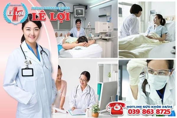 Phòng khám Lê Lợi - Địa chỉ chữa viêm vùng chậu uy tín ở Nam Đàn Nghệ An