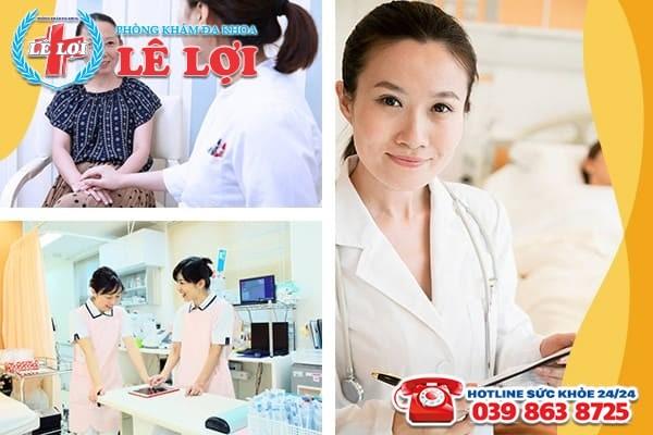 Phòng khám Lê Lợi - Địa chỉ chữa viêm vùng chậu hiệu quả, có chi phí hợp lý