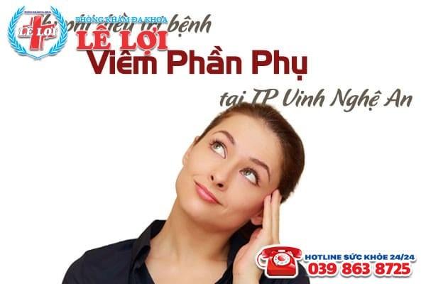 Chi phí điều trị viêm phần phụ ở TP Vinh Nghệ An