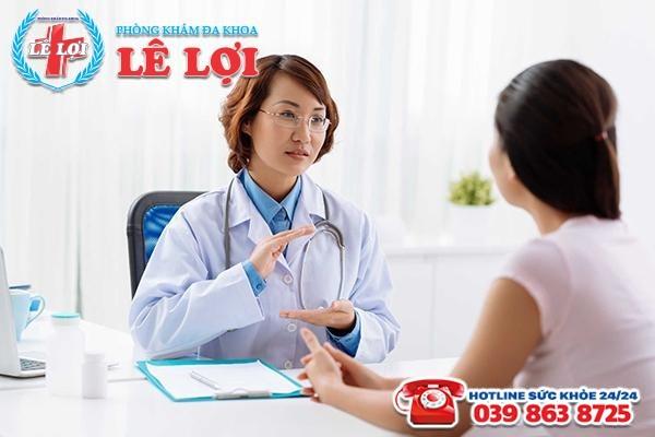 Chuẩn bị tâm lý vững vàng để tiếp nhận thông tin về tình trạng bệnh lý