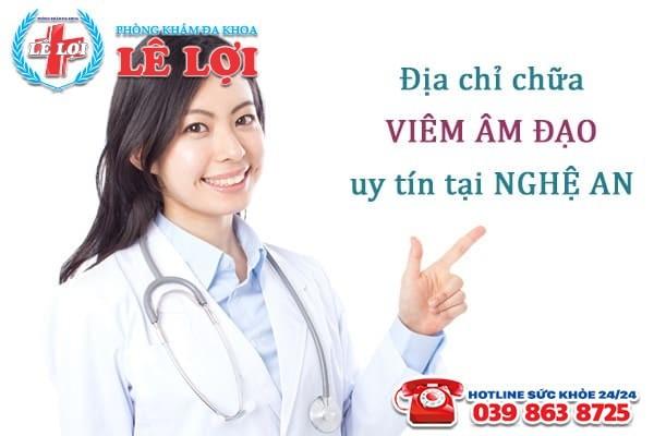 Đa khoa Lê Lợi - Địa chỉ chữa bệnh viêm âm đạo uy tín tại Nghệ An