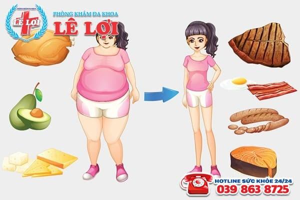 Giảm cân là một trong những cách điều trị đa nang buồng trứng hiệu quả