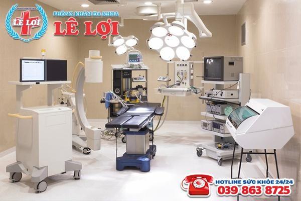 Đa Khoa Lê Lợi chú trọng đầu tư cơ sở vật chất, thiết bị y tế hiện đại