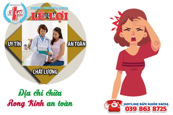 Địa chỉ chữa rong kinh an toàn ở Nam Đàn Nghệ An