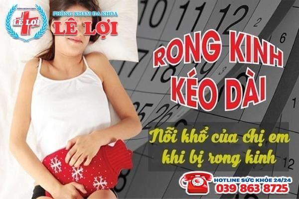 Địa chỉ chữa rong kinh uy tín chất lượng tại TP Vinh Nghệ An