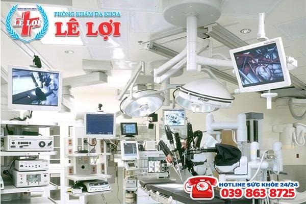 Cơ sở vật chất khang trang - thiết bị y tế hiện đại
