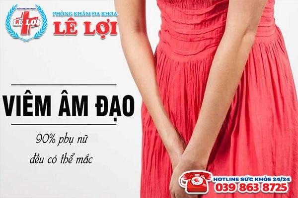 Địa chỉ chữa trị viêm âm đạo uy tín giá rẻ tại TP Vinh Nghệ An