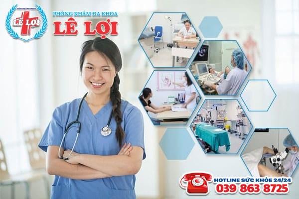 Phòng khám Lê Lợi – Địa chỉ chữa viêm buồng trứng uy tín ở Thanh Chương Nghệ An