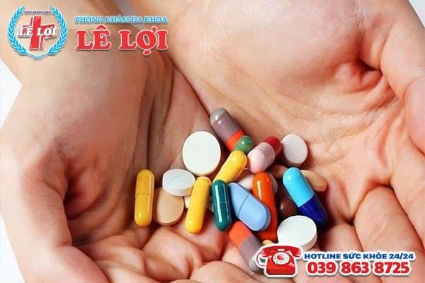 Điều trị viêm phần phụ bằng phương pháp nội khoa đối với bệnh ở giai đoạn cấp tính