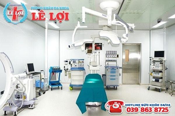 Trang thiết bị y tế hiện đại, phục vụ tốt cho quá trình điều trị bệnh