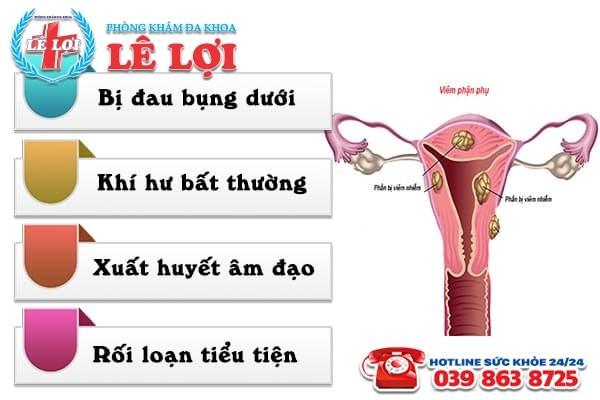 Nhận biết các dấu hiệu viêm phần phụ ở nữ giới
