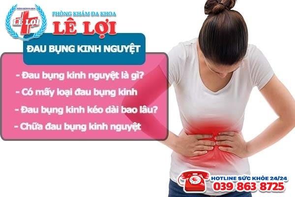 Những điều cần lưu ý về đau bụng kinh nguyệt ở nữ giới