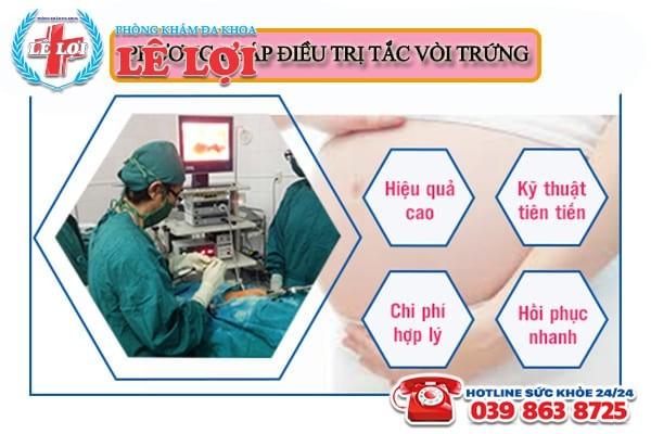 Phương pháp điều trị tắc vòi trứng hiện nay