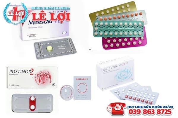 Tổng hợp các loại thuốc tránh thai