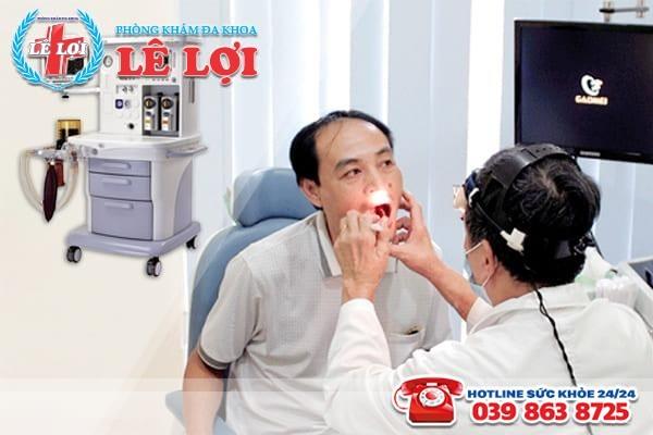 Nổi mụn trắng ở miệng đi khám và điều trị càng sớm càng tốt