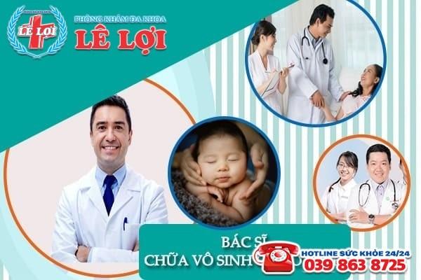 Bác sĩ chữa vô sinh giỏi ở Vinh