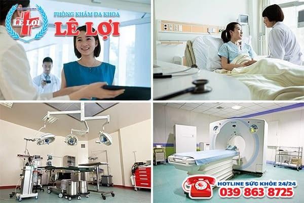Đa Khoa Lê Lợi - địa chỉ chăm sóc sức khỏe sinh sản uy tín