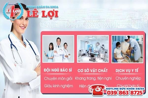 Phòng Khám Lê Lợi - Địa chỉ khám chữa trị trễ kinh nguyệt 2 tháng hiệu quả tại Nghệ An
