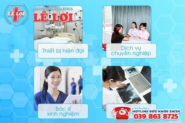 Phòng Khám Đa Khoa lê Lợi đáp ứng đầy đủ các yếu tố của một đơn vị y tế đạt chuẩn quốc tế