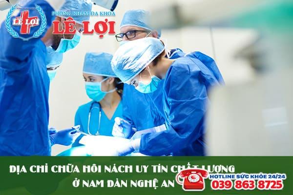 Địa chỉ chữa hôi nách uy tín chất lượng ở Nam Đàn Nghệ An