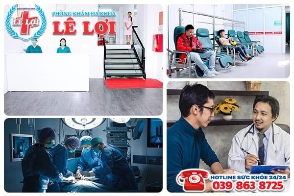 Địa chỉ khám chữa bệnh nam khoa uy tín chất lượng tại TP Vinh Nghệ An
