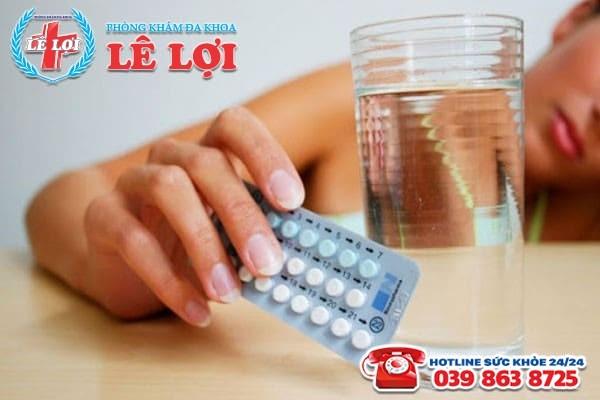 Uống thuốc tránh thai trong ngày đèn đỏ có bị vô sinh?